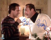 "Chevy Chase & Randy Quaid Signed ""National Lampoon's Christmas Vacation"" 11x14 Photo (Beckett COA & Chase Hologram)"