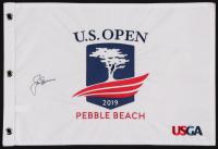 Jack Nicklaus Signed 2019 U.S. Open Golf Pin Flag (JSA ALOA)