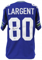 "Steve Largent Signed Jersey Inscribed ""HOF 95"" (Beckett COA) at PristineAuction.com"
