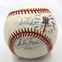 Derek Jeter Signed LE OML Baseball with New York Yankees Remarque by Charles Fazzino (JSA LOA)
