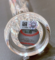 Mike Trout Signed LE Los Angeles Angels Clear Acrylic Baseball Bat (MLB Hologram) at PristineAuction.com