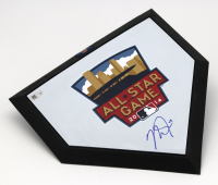 Mike Trout Signed 2014 All-Star Game Mini Home Plate (MLB Hologram) at PristineAuction.com