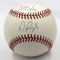 Mike Trout & Albert Pujols Signed OML Baseball (Steiner COA & MLB Hologram)