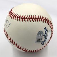 Mike Trout & Albert Pujols Signed OML Baseball (Steiner COA & MLB Hologram) at PristineAuction.com