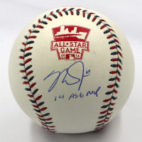 "Mike Trout Signed 2014 All-Star Game Baseball Inscribed ""14 ASG MVP"" (MLB Hologram)"