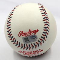 "Mike Trout Signed 2014 All-Star Game Baseball Inscribed ""14 ASG MVP"" (MLB Hologram) at PristineAuction.com"