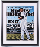 "Mariano Rivera Signed New York Yankees LE 22x26 Custom Framed Photo Display Inscribed ""1995-2013"" (Steiner COA) at PristineAuction.com"
