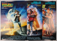 "Complete Set of (3) ""Back to the Future"" 27x40 Trilogy Movie Posters with Part I, Part II, & Part III"