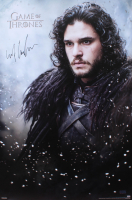 "Kit Harington Signed ""Game of Thrones"" 24x36 Poster (Radtke COA) at PristineAuction.com"