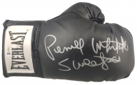 """Pernell Whitaker Signed Everlast Boxing Glove Inscribed """"Sweet Pea"""" (Beckett COA) at PristineAuction.com"""