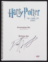 "Daniel Radcliffe Signed ""Harry Potter: The Complete Series"" Movie Script (PSA Hologram) at PristineAuction.com"