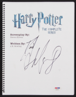 "Daniel Radcliffe Signed ""Harry Potter: The Complete Series"" Movie Script (PSA Hologram)"