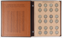 Lot of (87) 1932-1964 Proof Washingon Quarters in Book