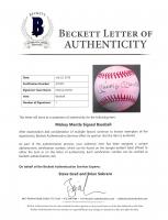 Mickey Mantle Signed Rawlings Baseball (Beckett LOA) at PristineAuction.com