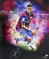 Neymar Signed Barcelona 20x24 Photo (Fanatics Hologram)