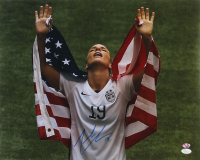 Julie Johnston Signed Team USA 16x20 Photo (JSA COA & Sure Shot Promotions Hologram) at PristineAuction.com