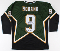 "Mike Modano Signed Jersey Inscribed ""99 Cup"" (Beckett COA)"