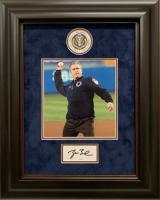 George W. Bush Signed 17x21 Custom Framed Cut Display (JSA COA)