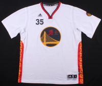 """Kevin Durant Signed LE Golden State Warriors Chinese New Year Adidas Jersey Inscribed """"Dub Nation"""" (Panini COA) at PristineAuction.com"""