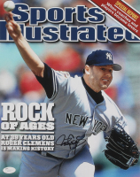 Roger Clemens Signed New York Yankees 11x14 Photo (JSA COA) at PristineAuction.com
