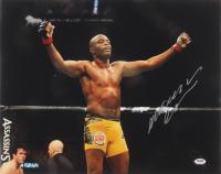 Anderson Silva Signed UFC 16x20 Photo (PSA Hologram)