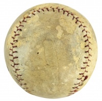Babe Ruth Signed Baseball (PSA LOA - Graded 2.5) at PristineAuction.com