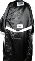 """Iron"" Mike Tyson & Evander Holyfield Signed Everlast Boxing Robe (PSA COA)"