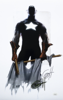"""Greg Horn Signed Marvel """"Captain America"""" 11x17 Lithograph (JSA COA) at PristineAuction.com"""
