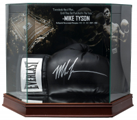 Mike Tyson Signed Everlast Boxing Glove with Display Case (JSA COA) at PristineAuction.com