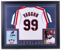 Charlie Sheen Signed 35x43 Custom Framed Jersey (JSA COA)