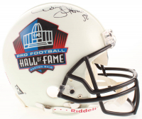 Derrick Thomas Signed Pro Football Hall of Fame Full-Size Authentic On-Field Helmet (Beckett LOA) at PristineAuction.com