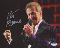 Pat Boone Signed 8x10 Photo (PSA COA)