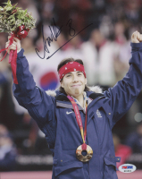 Apolo Anton Ohno Signed Team USA 8x10 Photo (PSA COA)