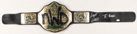"Kevin Nash & Scott Hall Signed ""New World Order"" World Heavyweight Championship Wrestling Belt (JSA COA)"