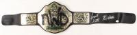 "Kevin Nash & Scott Hall Signed ""New World Order"" World Heavyweight Championship Wrestling Belt (JSA COA)"