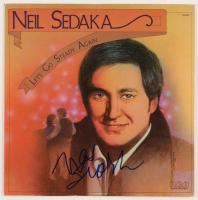 """Neil Sedaka Signed """"Let's Go Steady Again"""" Vinyl Album Cover (Beckett COA)"""