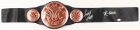 Kevin Nash & Scott Hall Signed WWE Tag Team Championship Belt (JSA COA)