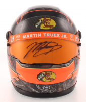 Martin Truex Jr. Signed NASCAR Bass Pro Shops 1:3 Scale Mini-Helmet (PA COA) at PristineAuction.com