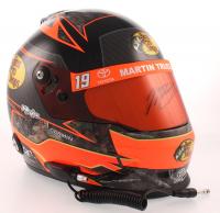 Martin Truex Jr. Signed NASCAR Bass Pro Shops 1:3 Scale Mini-Helmet (PA COA) at PristineAuction.com