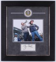 George W. Bush Signed 17.5x19.5 Custom Framed Cut Display (JSA COA)