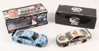Lot of (2) Kevin Harvick LE 1:24 Scale Die Cast Cars with (1) Signed #4 Jimmy John's Las Vegas Win 2018 Fusion Elite & (1) #4 Busch Light 2017 Fusion (RCCA COA)