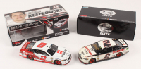 Lot of (2) Brad Keselowski LE 1:24 Scale Die Cast Cars with (1) Signed #2 DIscount Tire Indy Win Autographed 2018 Fusion Elite & (1) #2 Wurth 2017 Fusion (RCCA COA)