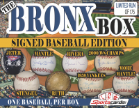 """THE BRONX MYSTERY BOX – SIGNED BASEBALL EDITION"" -BABE RUTH, MANTLE, JETER, & MORE at PristineAuction.com"