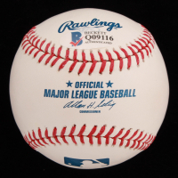 Tyler Skaggs Signed OML Baseball (Beckett COA) at PristineAuction.com