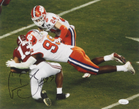 Clelin Ferrell Signed Clemson Tigers 11x14 Photo (JSA COA) at PristineAuction.com