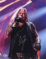 "Vince Neil Signed ""Motley Crue"" 11x14 Photo (Beckett COA)"
