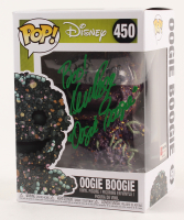 """Ken Page Signed """"The Nightmare Before Christmas"""" - Oogie Boogie #450 Funko Pop! Vinyl Figure Inscribed """"Boo!"""" & """"Oogie Boogie"""" (PA COA) at PristineAuction.com"""