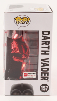 "Spencer Wilding Signed ""Star Wars"" - Darth Vader #157 - Rare Target Red Card Exclusive - Funko Pop! Vinyl Figure Inscribed ""Darth Vader"" & ""R1"" (PA COA) at PristineAuction.com"