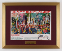 "LeRoy Neiman ""The New York City Marathon"" 17x21 Custom Framed Print"