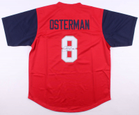 "Cat Osterman Signed Team USA Jersey Inscribed ""USA"" (JSA COA)"